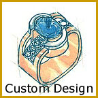 Design Your Own Ring, Custom Designs in Platinum & Gold, One of a Kind, Rare & Unique Designer Diamond Engagement Rings, AGS 000 Hearts & Arrows, Ideal Cut Diamonds